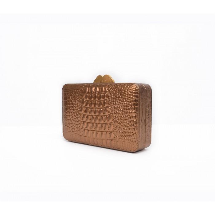 Box Clutch - Bronze