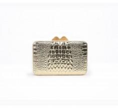 Box Clutch - Gold