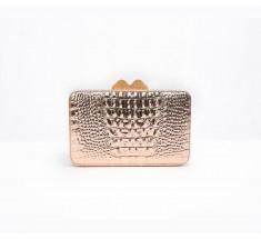 Box Clutch - Rose Gold
