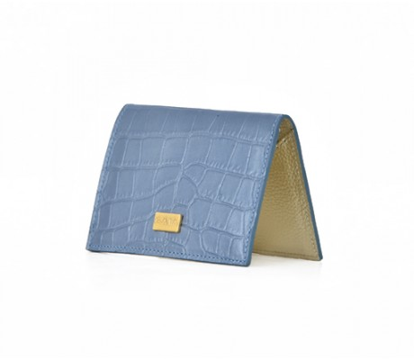 Cardholder Nacre - Blue