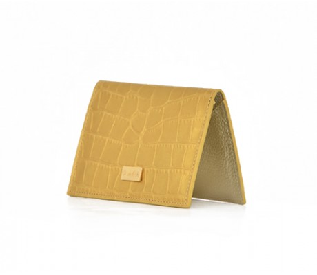 Cardholder Nacre - Gold
