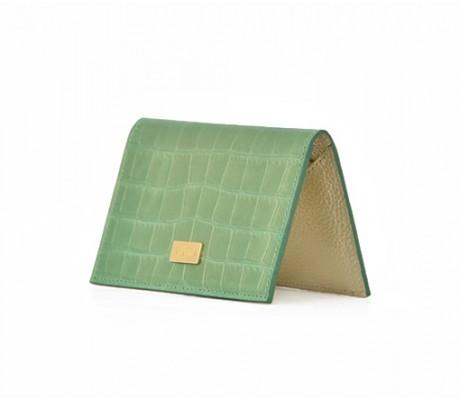 Cardholder Nacre - Green