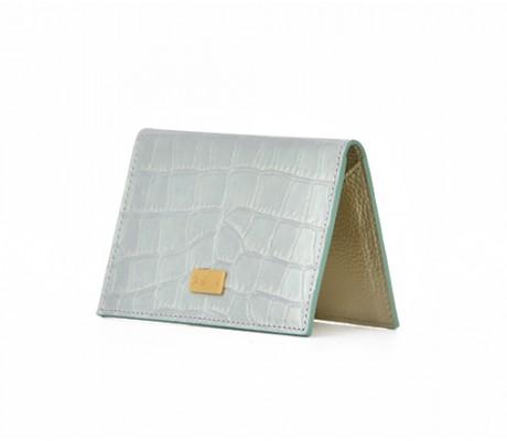 Cardholder Nacre - Light Green