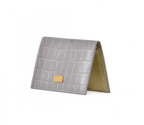 Cardholder Nacre - Silver