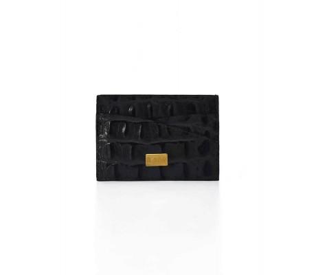 Cardholder Double Curve - Black