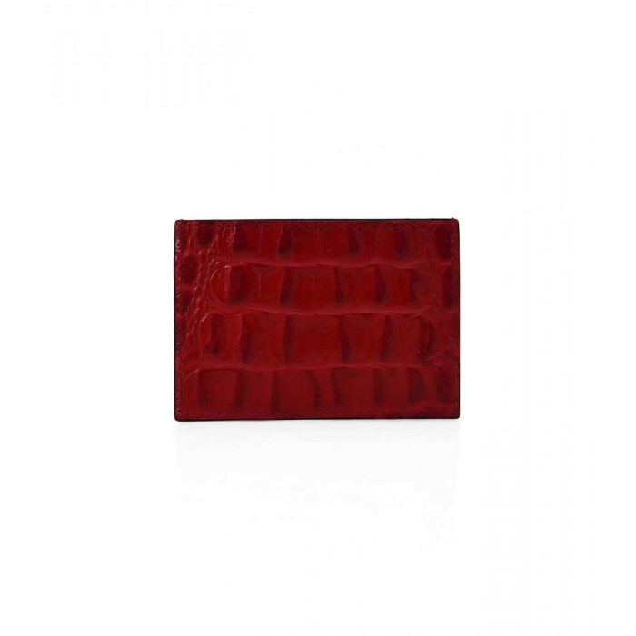 Cardholder Double Curve - Red