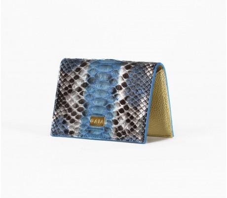 Cardholder Python - Multi Blue