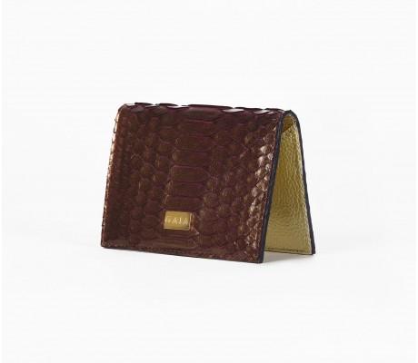 Cardholder Python - Mono Bronze