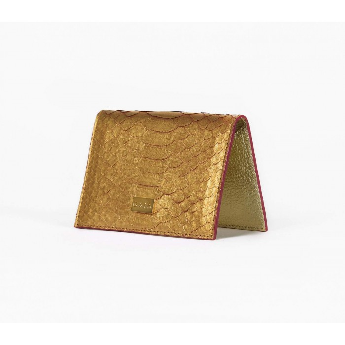 Cardholder Python - Mono Gold