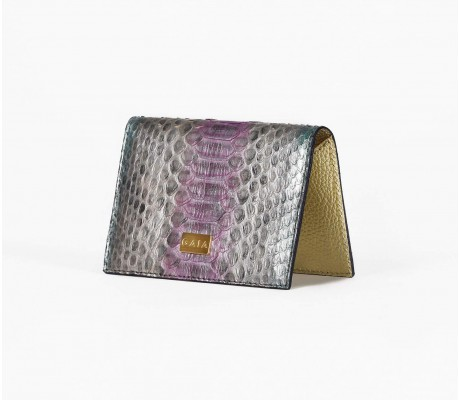 Cardholder Python - Multi Silver