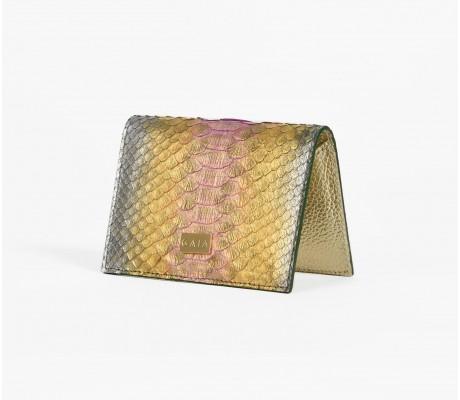 Cardholder Python - Multi Gold
