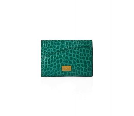 Cardholder Single Curve - Jade