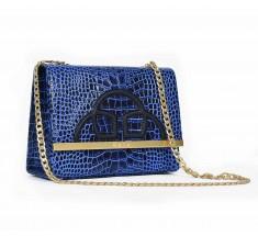 Emblem Midi - Blue Black