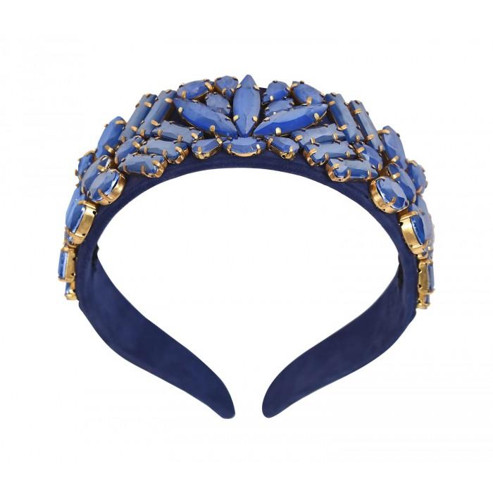 Headbands Crystal Dark Blue