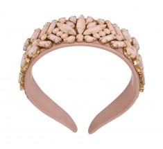 Headbands Crystal Mauve