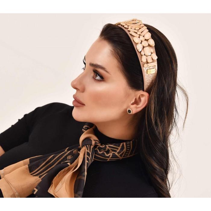 Headbands Crystal Champagne