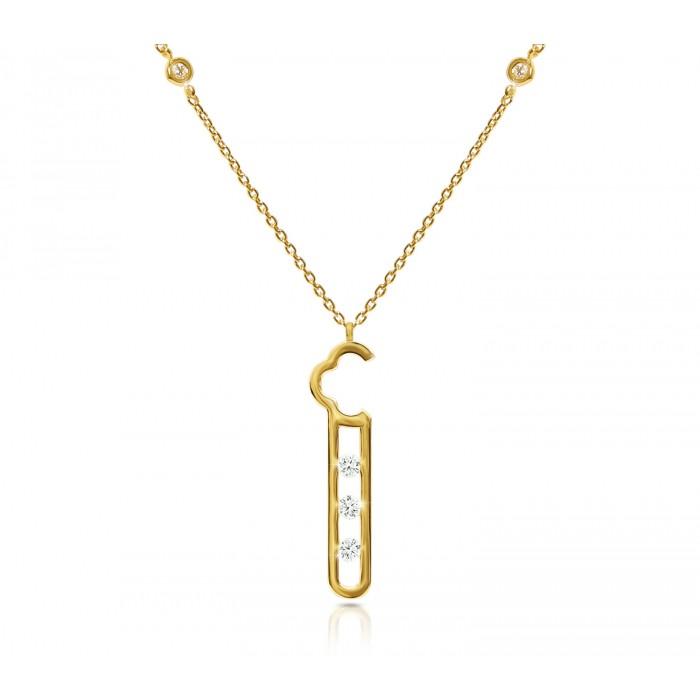 JW - Air Necklace - YG