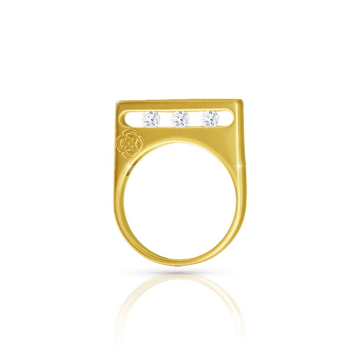JW - Air Ring - Yellow Gold