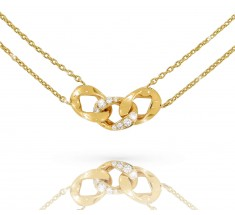 JW - Chain Necklace - Yellow Gold