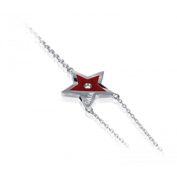 JW Constellation - Bracelet WG - Maroon