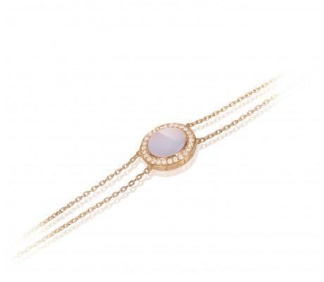 JW Circle Of Life - Bracelet RG Pearl