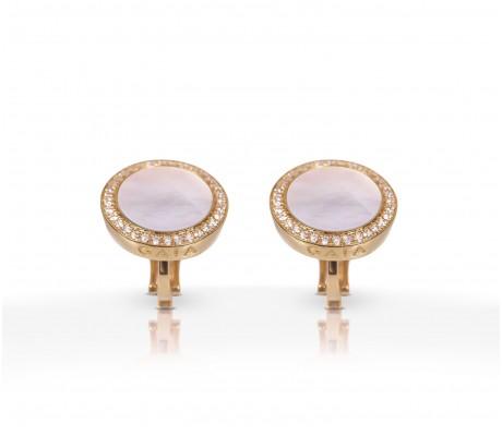 JW Circle Of Life - Earrings RG Pearl