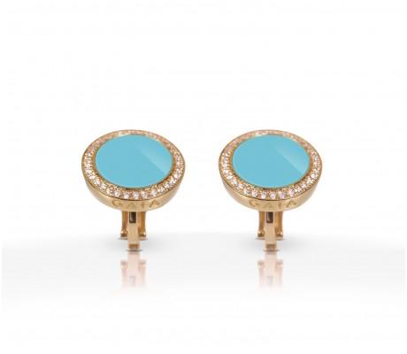 JW Circle Of Life - Earrings RG Turquoise