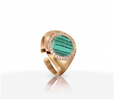 JW Circle Of Life - Ring RG Malachite