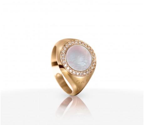JW Circle Of Life - Ring RG Pearl
