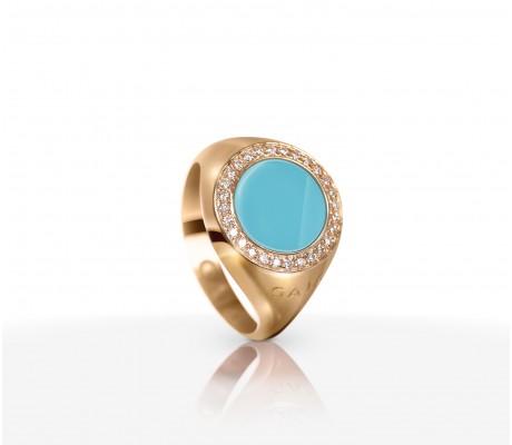 JW Circle Of Life - Ring RG Turquoise