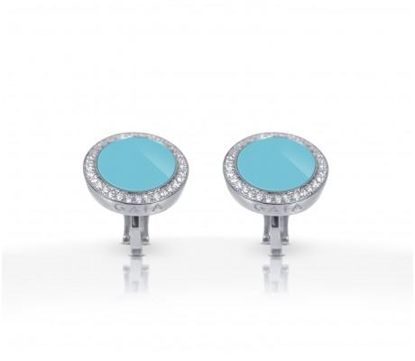 JW Circle Of Life - Earrings WG Turquoise