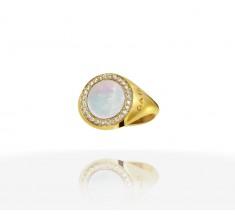 JW Circle Of Life - Ring YG Pearl