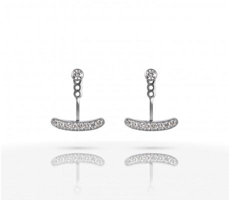JW Joy - Earrings White Gold