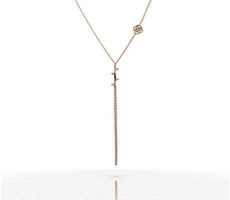 JW - Necklace Bracelet - Stick RG