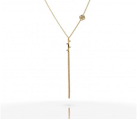 JW - Necklace Bracelet - Stick YG