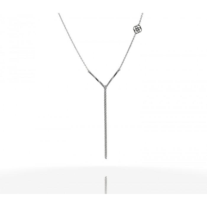 JW - Necklace Bracelet - V Shape WG