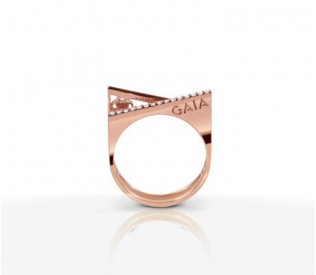 JW Pyramid - Ring Rose Gold