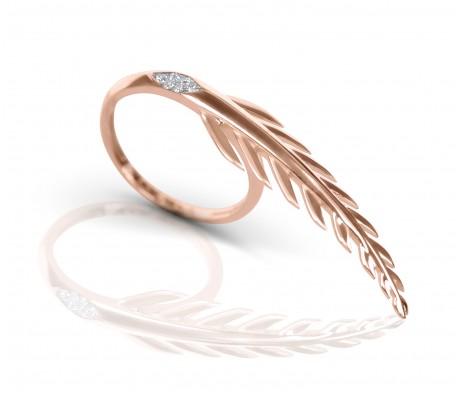 JW - Palm Ring - Rose Gold