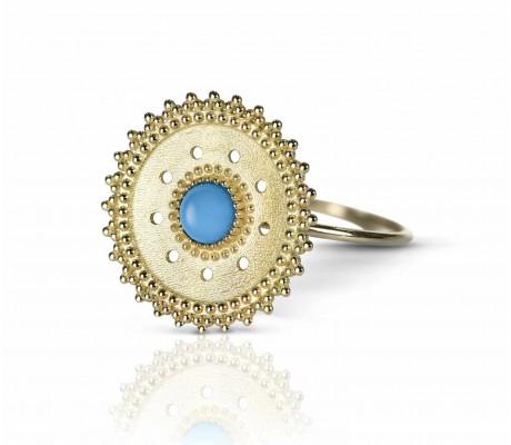 JW - Shams Ring - Turquoise