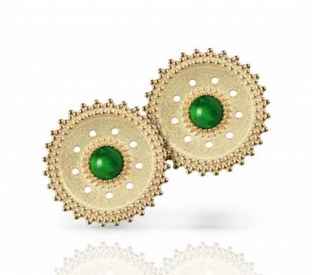JW - Shams Earrings - Green