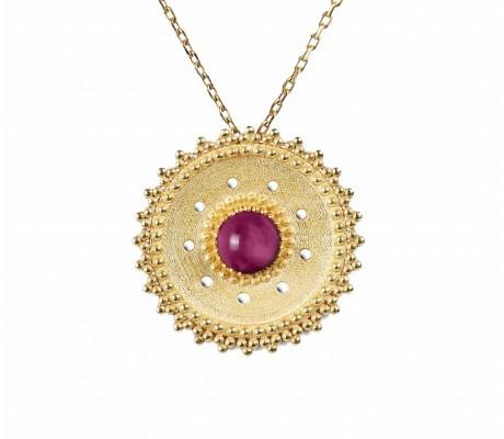 JW - Shams Necklace - Pink