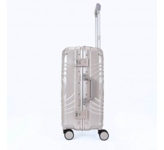 Carry On Luggage - Silver