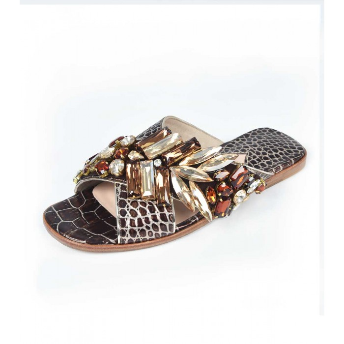 M Shoes - Brown and gold