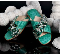 M Shoes - Green Jade