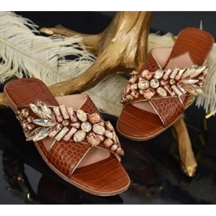 M Shoes - Tan Brown
