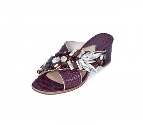 M Shoes Heels - Burgundy