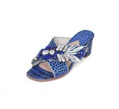 M Shoes Heels - Navy Blue