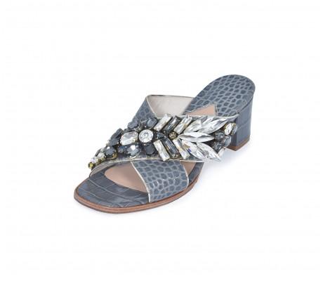 M Shoes Heels - Vintage Gray