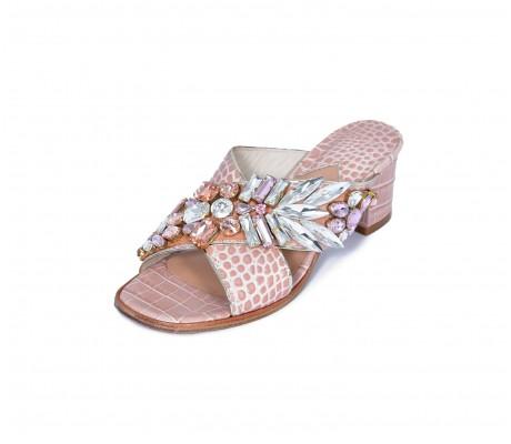 M Shoes Heels - Light Rose