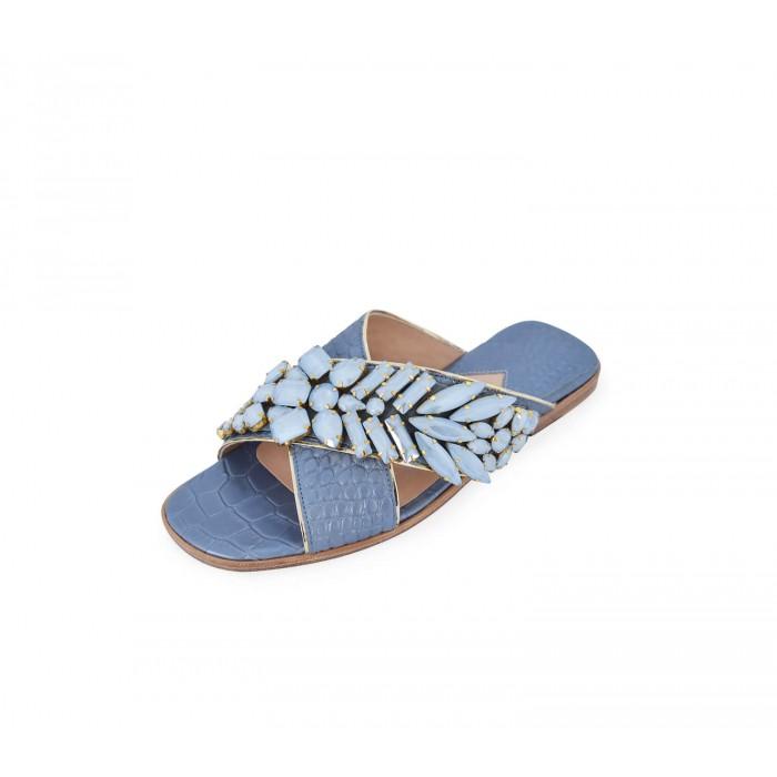 M Shoes - Nacre Blue